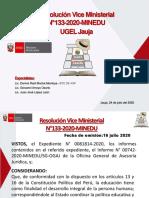 Presentación-RVM 133-2020-MINEDU