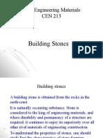 2. Building stones