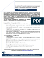 Job-announcement_Cost-Controller