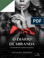 O Diário de Miranda - Tatiana Amaral