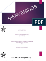 SOCIALIZACION LEY 594 DEL 2000