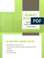 Lecture 6 Market Research