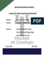 Inventario de Estilos de Aprendizaje de Kolb  Presentación final