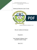 PROGRAMA AUDITORIA DE SISTEMAS A LA INSTITUCIÓN EDUCATIVA LAURA VICUÑA.doc