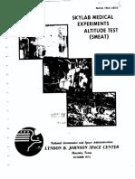 Skylab Medical Experiments Altitude Test (SMEAT)