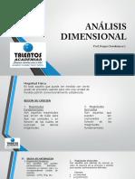 ANÁLISIS DIMENSIONAL CLASE I