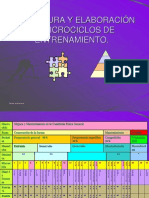 ESTRUCTURA Y ELABORACIÓN DE MICROCICLOS DE ENTRENAMIENTO