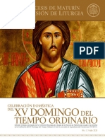 Subsidio - XV Domingo del Tiempo Ordinario - Ciclo A