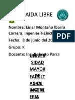 INFORME LABORATORIO DE FISICA 3