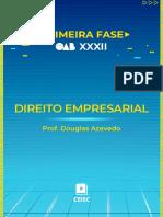 15-Direito Empresarial (Prof. Douglas Azevedo)_XXXII