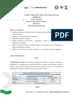 TRANSICIÓN. LUIS CARLOS GALAN SARMIENTO. CONECTIVIDAD LIMITADA - SEMANA #4 - DEL 26 AL 29 DE MAYO DE 2020