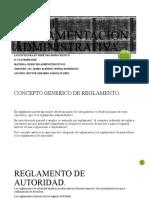 DERECHO ADMINISTRATIVO II TEMA I REGLAMENTACION ADMINISTRATIVA.pptx