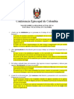 Taller de la Pastoral Vocacional en Garzón