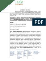 Anúncio de Vaga Assistente Administrativo Chimoio Jan 19