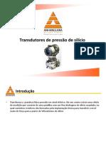 Transdutores de pressão por silicio