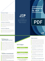 brochure SANCIONES JEP