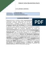 Modelo Tutela Protección Laboral Reforzada