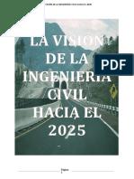 LA INGENIERIA CIVIL PARA EL 2025