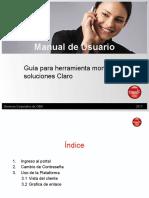 Manual de usuario para portal soluciones claro