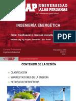 Semana 02 Clasificación y recursos energéticos