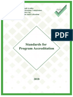 StandardsforProgramAccreditation