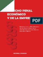 De la Mata Barranco Norberto, et al - Derecho Penal Economico y de la Empresa