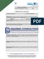 FGPR_200_06 - Métrica de Calidad