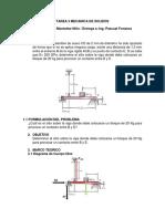 Deformación simple Mecánica de sólidos