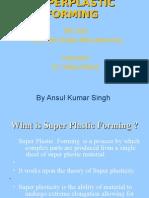 super plastic forming