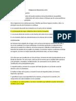 TRABAJO DE PREGUNTAS ICFES