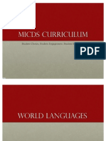 MICDS US CURRICULUM