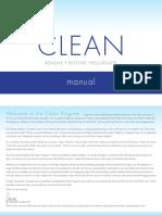 Clean Program Manual