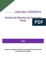 Diseño de Mezcla I CG