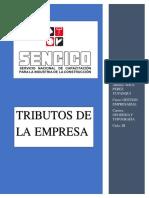 RAUL PEREZ YUPANQUI-TRIBUTOS DE LA EMPRESA