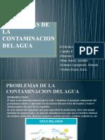 GRUPO 4 PROBLEMAS DE LA CONTAMINACION DEL AGUA (1)