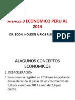ANALISIS ECONOMICO PERU AL 2014