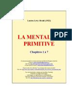 La mentalite primitive_cap 1 a 7