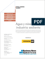 Agua y Mineria - Una Industria Sedienta