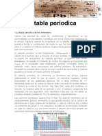 La tabla períodica