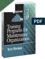 Training Programs for Maintenance Organizations_ Maintenance Strategy Series ( PDFDrive.com ).pdf