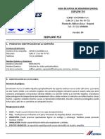 ISOFLOW 753 MSDS
