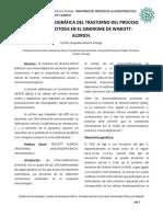 REVISIÓN BIBLIOGRÁFICA DEL TRASTORNO DEL PROCESO DE LA FAGOCITOSIS EN EL SÍNDROME DE WISKOTT-ALDRICH.