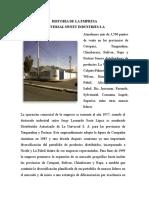 Historia de La Empresa UNIVERSAL.