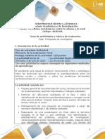 Guia de actividades y Rúbrica de evaluación - Fase 5