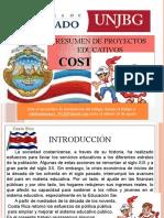 RESUMEN DE PROYECTOS EDUCATIVOS EN COSTA RICA