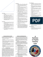 2005 Summary of Virginia Firearms Laws