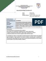 4° Medio Contabilidad, Módulo Procesamiento de Información Contable y Financiera, semana 05