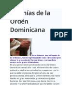 Letanías de la Orden Dominicana