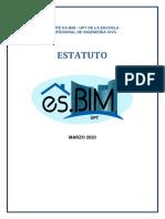 Muestra de Estatuto es.BIM - Afiliado (UPT)