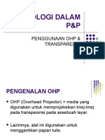 TEKNOLOGI DALAM P&P